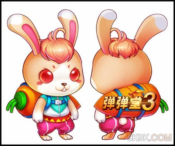 可爱小白兔视频