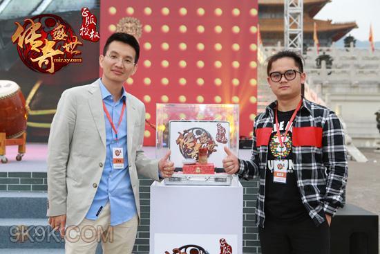 XY游戏传奇盛世,明星发布会引爆横店