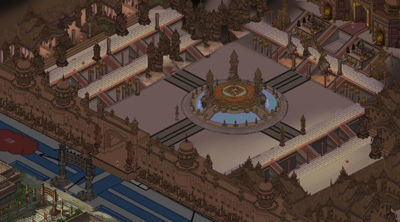 天竺主城规划