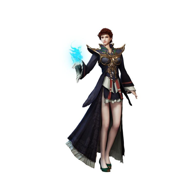 魔法长袍女