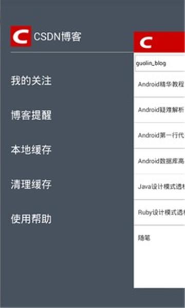 CSDN博客截图