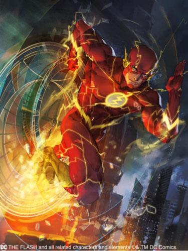 赤色闪电 光速冲击《小冰冰传奇》dc授权闪电侠神速来袭!