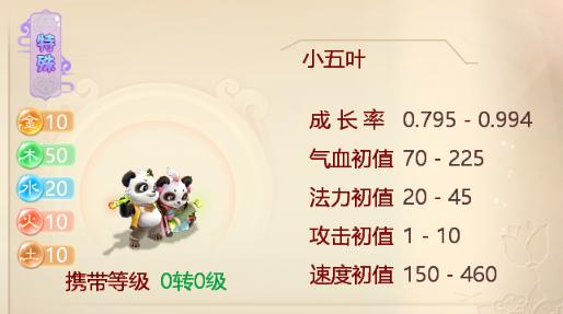 """""""小五叶""""萌翻登场 大话西游手游新召唤兽首曝"""