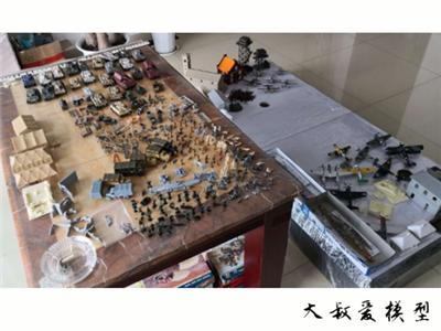 模型战争 《坦克纪元》是你没有见过的画风