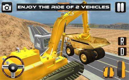 重型挖掘机3d安卓版这是一款模拟开挖掘机的驾驶类游戏.