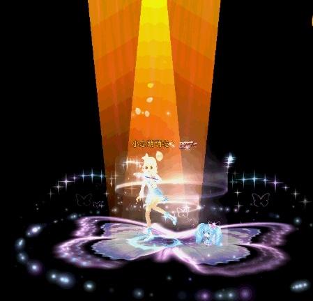 《恋舞OL》梦幻手持翩翩蝴蝶魔杖 浪漫共舞