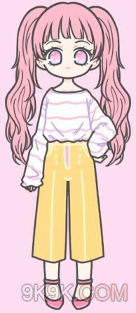 装扮少女挑战服装模特怎么过