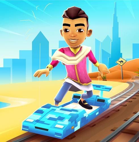 极致奢华之旅,《地铁跑酷》迪拜版本今日全渠道上线