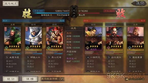三国志战略版五虎上将阵容推荐