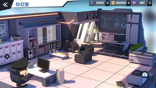 《苍蓝誓约》3D基建首次曝光 你与战姬的港湾家园