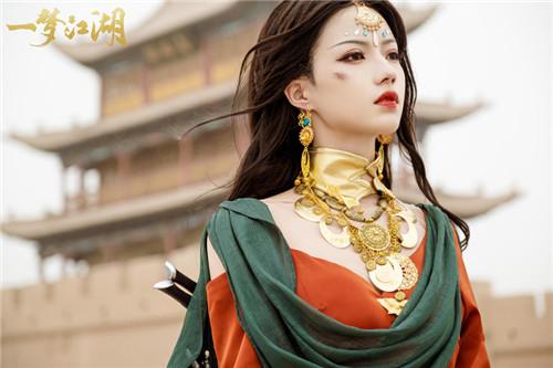 张傲月、党妹化身伽蓝 演绎《一梦江湖》超飒新门派