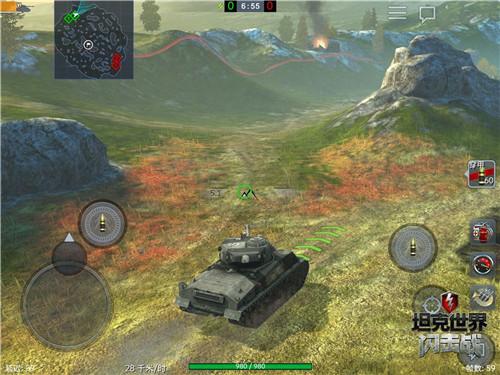 《坦克世界闪击战》X电影《狂怒》 主角同款战车等你驾驭