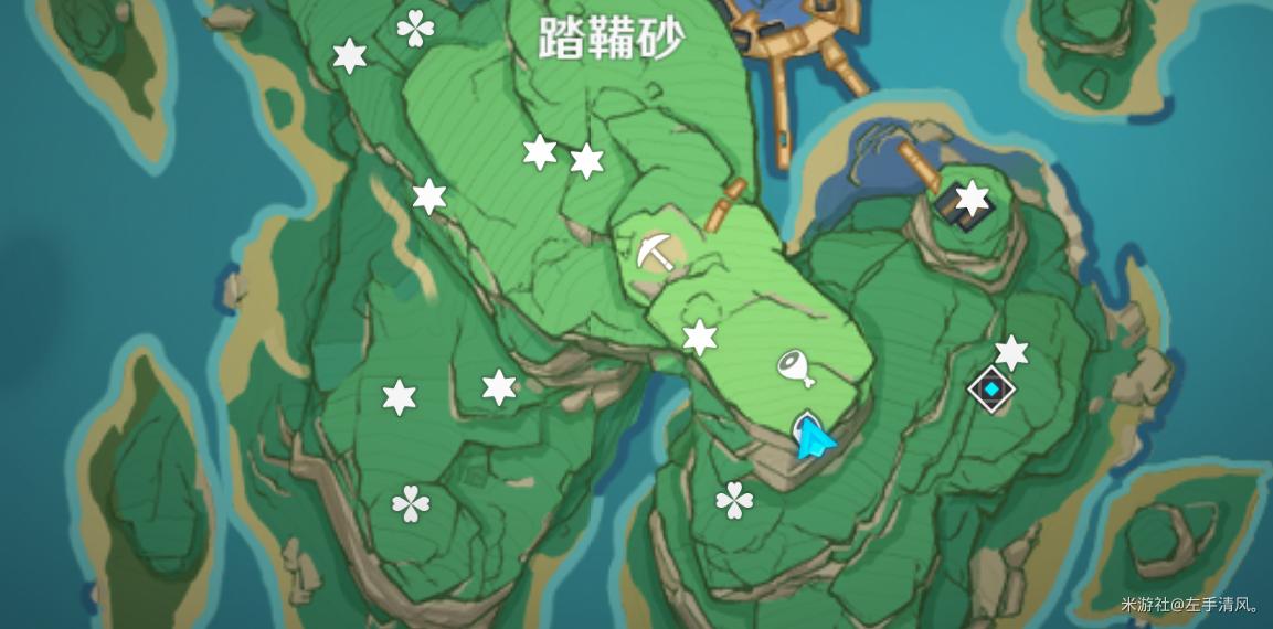 原神稻妻城七个华丽宝箱位置攻略