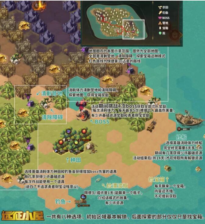 剑与远征迷失孤岛活动攻略