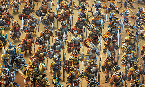 王朝史诗《战争与文明》英雄升级降价进行中!
