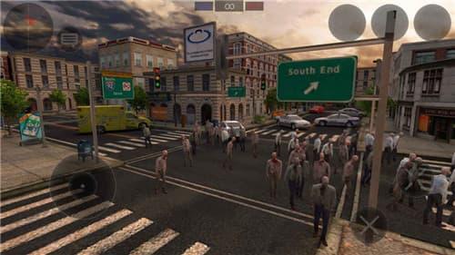 僵尸作战模拟截图