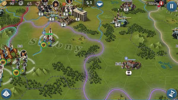 歐陸戰爭6截圖