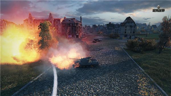 腾讯坦克世界截图