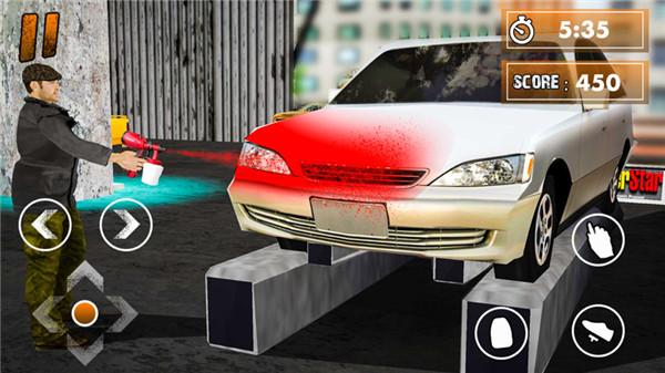 3D汽车修理工作模拟器截图