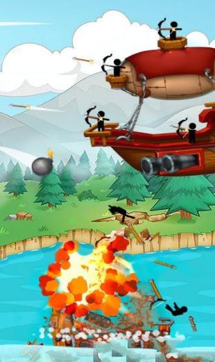 火柴人海盜戰爭截圖