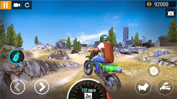 城市摩托車賽車截圖