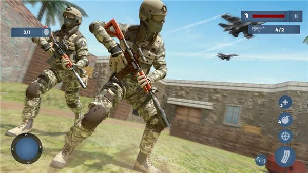 FPS士兵的沖突截圖