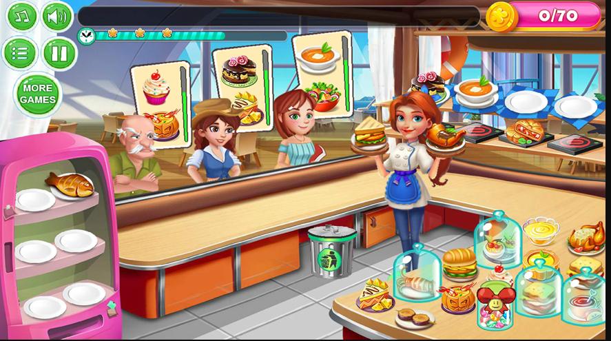 頂級廚師餐廳最新版截圖