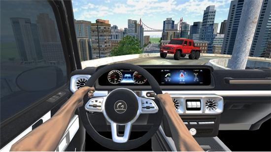奔驰模拟驾驶截图