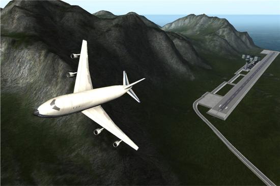 卡通飞机截图