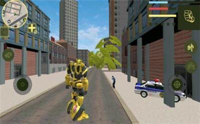 大黄蜂机器人大战截图