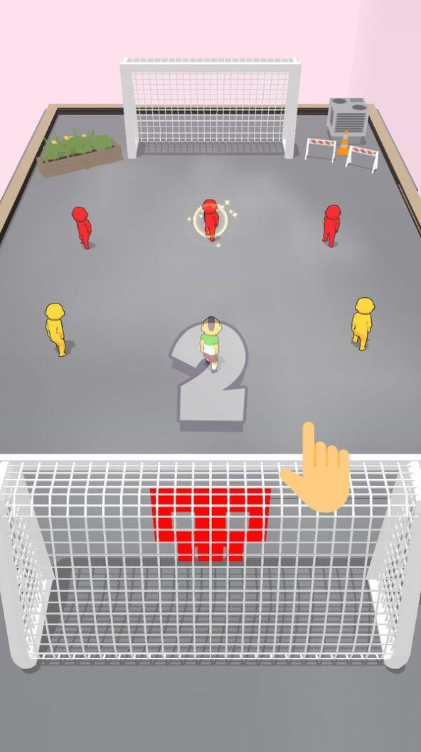 迷你人类足球游戏截图2