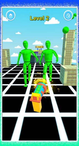 击倒所有机器人游戏截图2