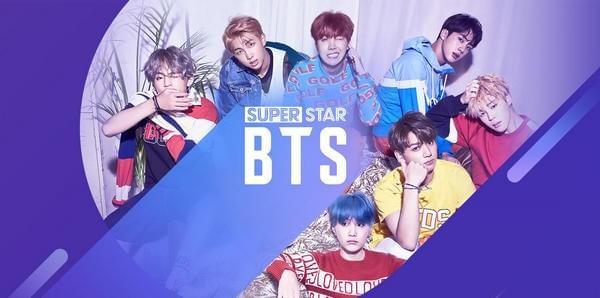SuperStar BTS截图