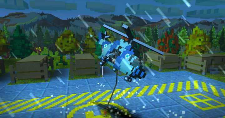 像素直升机救援2截图