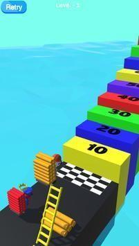 梯子马拉松比赛截图