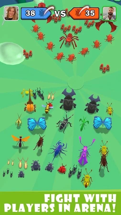 虫子冲突截图