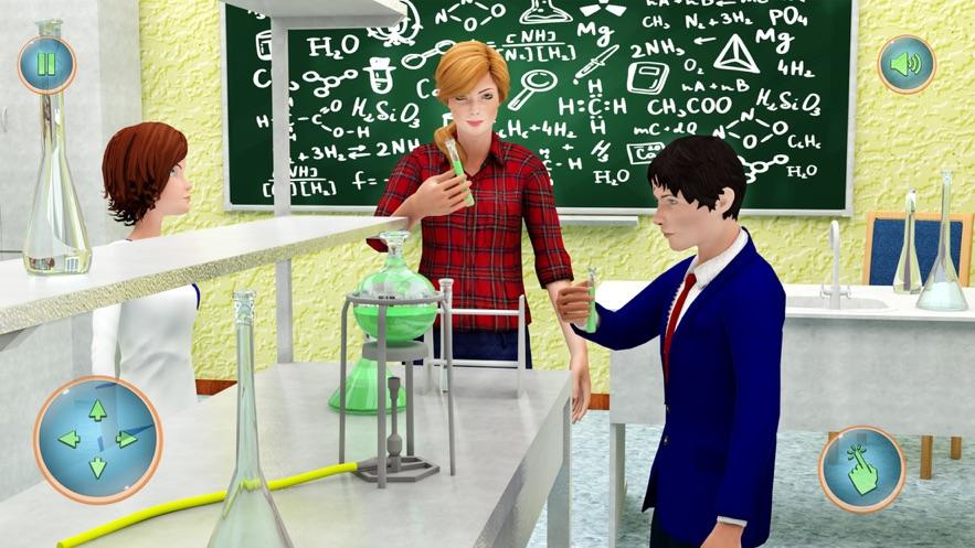 老师模拟器:学校生活截图