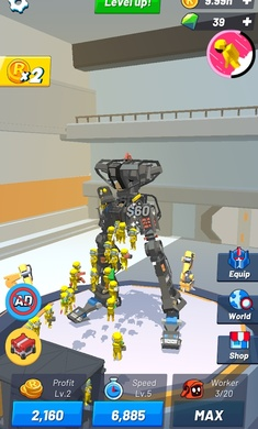 放置机器人大亨截图