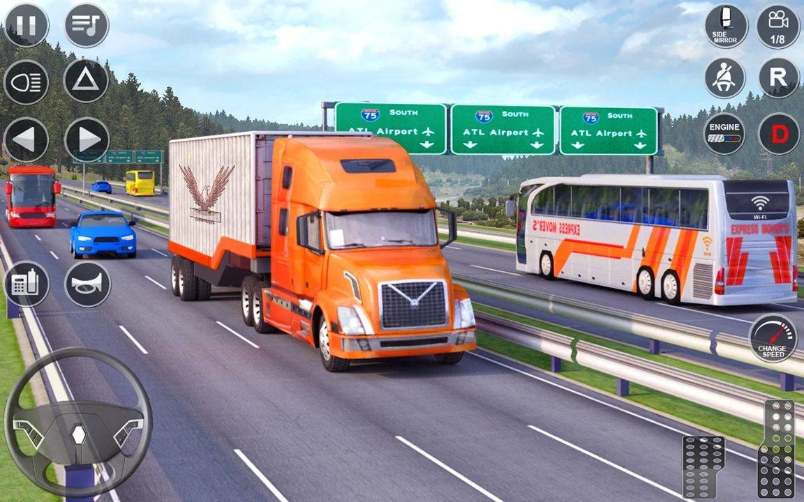 欧洲卡车驾驶模拟器3D截图