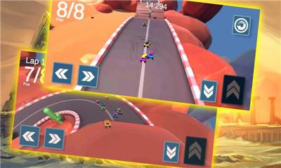登山赛车模拟器截图