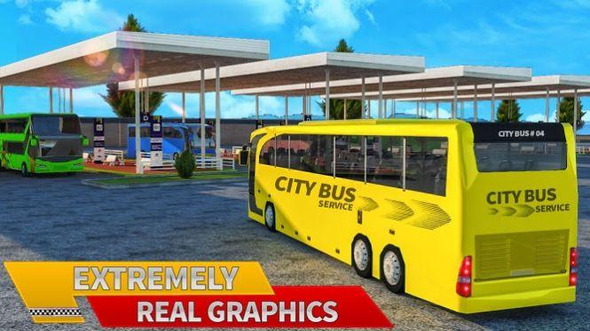客车司机模拟截图