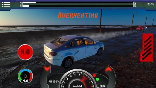 俄罗斯汽车拉力赛截图