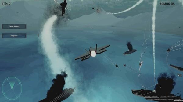 空战飞行模拟器截图