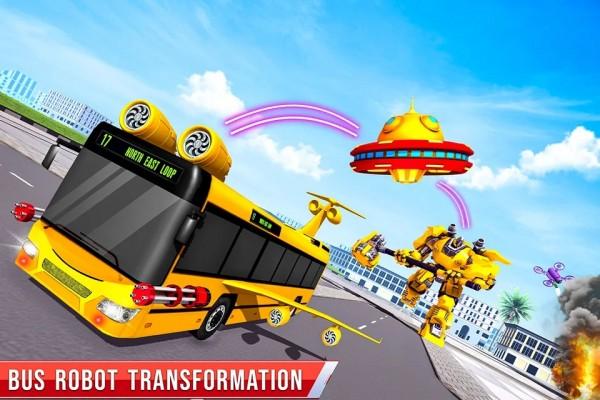 飞行巴士机器人车截图
