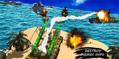 海军导弹发射战舰截图