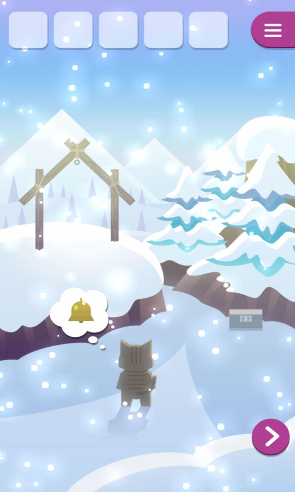 动物与雪之岛截图