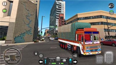 新印度人货物卡车模拟器截图