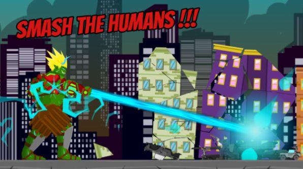 绿巨人摧毁城市截图