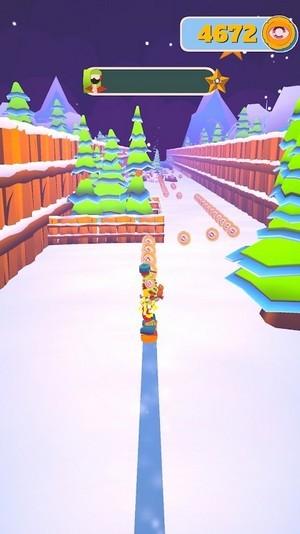 下雪滑雪板大师3D截图