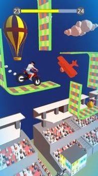 摩托车飞跃竞技截图